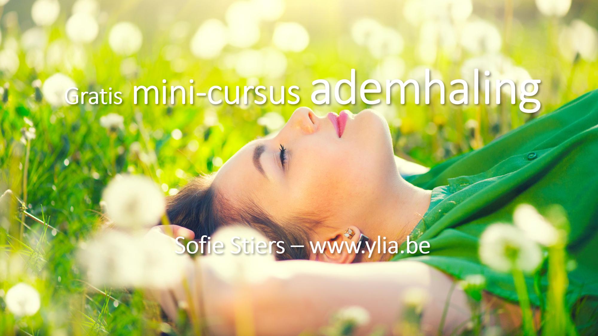 gratis mini cursus ademhaling